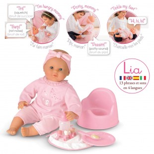 Lia Interactive Baby Doll