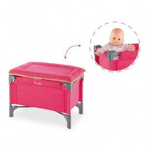 Doll Cherry Bed & Changing Table