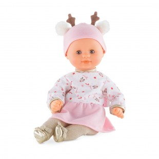 Bébé Calin Happy Reindeer Baby Doll