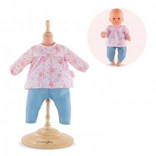 Blouse & Pants for 12-inch baby doll