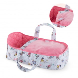 Carry bed for 12-inch baby doll