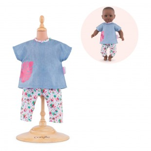 Outfits set-TropiCorolle for 12-inch baby doll