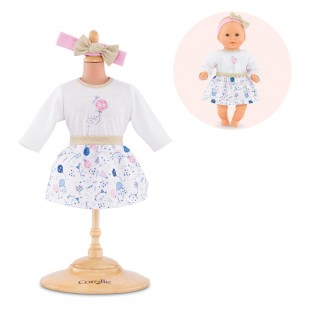 Outfits Set #40yearscorolle for 12-inch baby doll