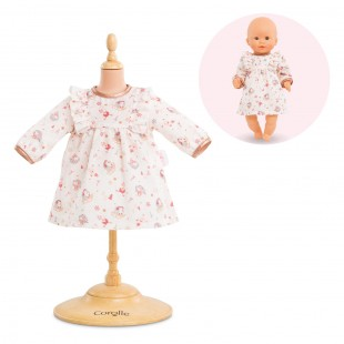 dress- enchanted winter for 12-inch baby doll