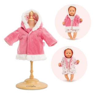 Coat- enchanted winter for 12-inch baby doll