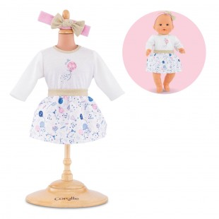 Outfits set #40yearsCorolle for 14-inch baby doll