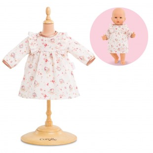 Dress - enchanted winter for 14-inch baby doll