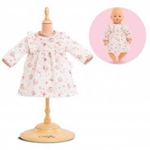 Dress - enchanted winter for 17-inch baby doll