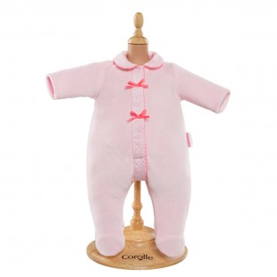 Pink Pajamas for 17-inch baby doll