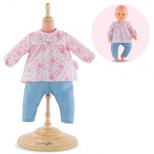 Blouse & Pants for 17-inch baby doll