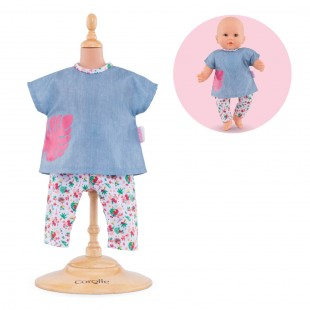 TropiCorolle Outfit Set for 14-inch baby doll